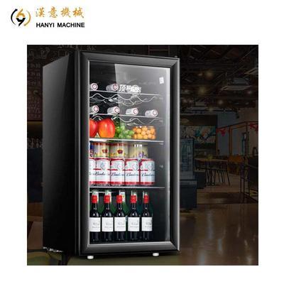 Bar Fridge Drink Cooler Freezer Small Beverage Display Lunch Truck Parts